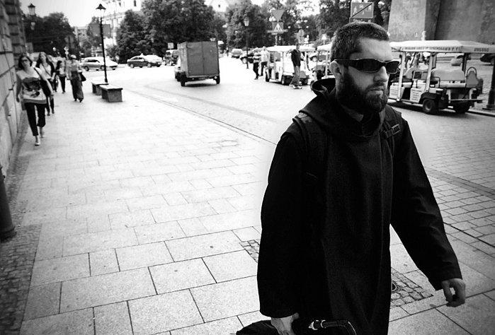 Kraków czarno biały